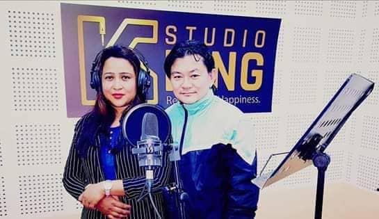 गायिका करुणा र गायक सुरेश राईको  हतुवागडी बोल्को गित सार्वजनिक